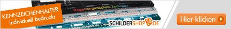 Kennzeichenhalter und Schilder von Schildershop24